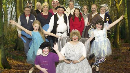 The cast of Little Red Riding Hoodie and the Wicken Witch of Witcham