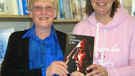 Author Rosemary Westwell celebrated the publication of her book, 'John, Dementia and Me' at a gather