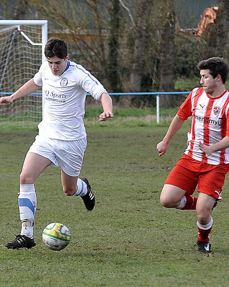Chatteris Town vs West Wratting. Picture Steve williams.