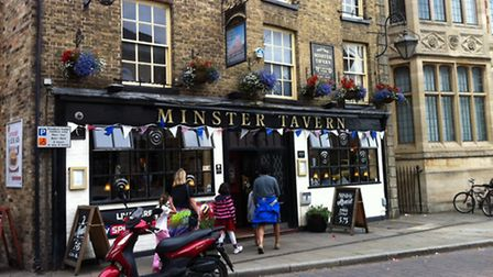 The Minster public house in Ely