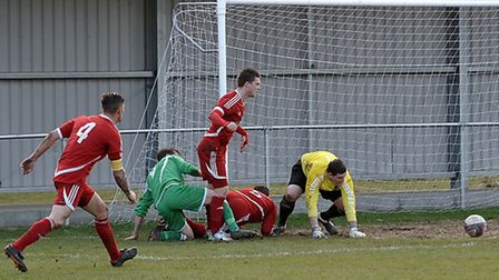 Wisbech Town vs Haverhill Rovers. Picture: Steve Williams.