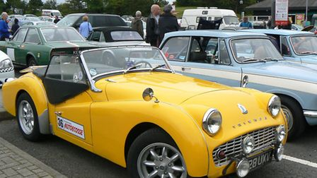 Classic Car Event/rally starting from The Cherry Tree, Soham.