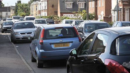 Traffic congestion St Peters rd March