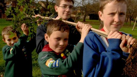 The scout group will launch on February 27