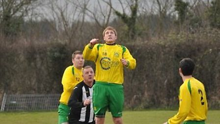 Action from Dunmow Rhodes' clash with Great Baddow Reserves
