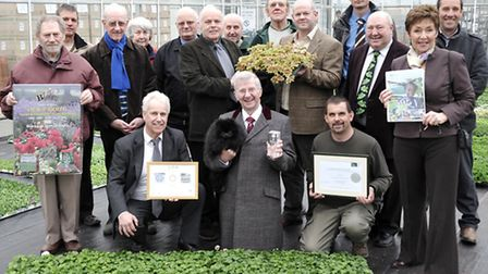 Wisbech in Bloom launch of their 2013 in Bloom campaign. Delamores as once again they have generousl