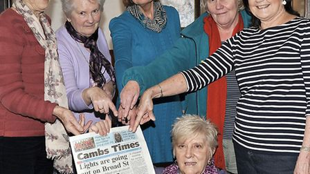 Oliver Cromwell ladies leisure group unhappy about the market town strategy plan.