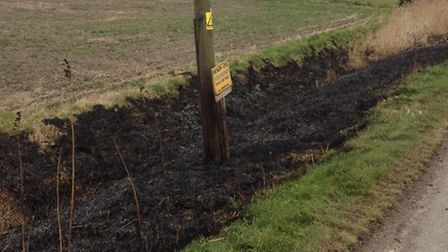 Ramsey ditch fire