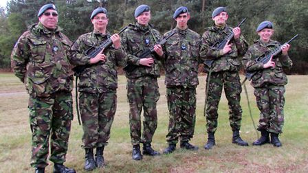 March's 1220 Squadron at the Commandant's Cup
