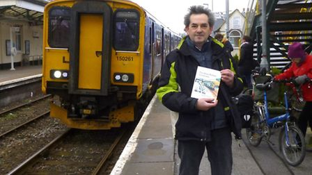 Author David Henshaw with his new book