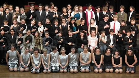 King's Ely students performed Bugsy Malone