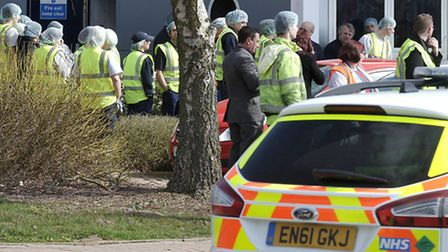 Chemical incident at Paragon sleeves and cartons Wisbech.