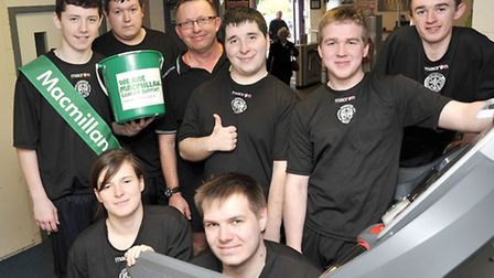 Uniform services students from the isle campus wisbech took part in a charity run to raise funds for
