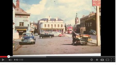 Part of new video of nostalgic postcards