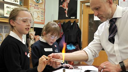 Cromwell Community College Chatteris.Year 5 students from Lionel Walden Doddington came and spent th