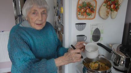 Kathleen Carhart has been running the soup kitchen from her house for over 20 years.