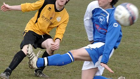 March Town football vs Downham. Picture: Steve Williams.