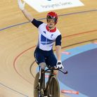 Paralympian Jody Cundy after coming third in the men's C4 4km individual pursuit [Picture: Christina