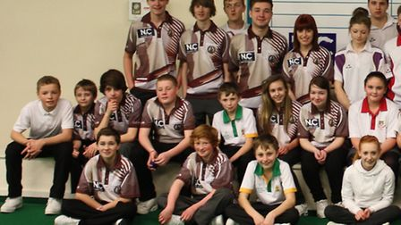 More than 50 juniors turned out to compete in the Ely Bowls Club event