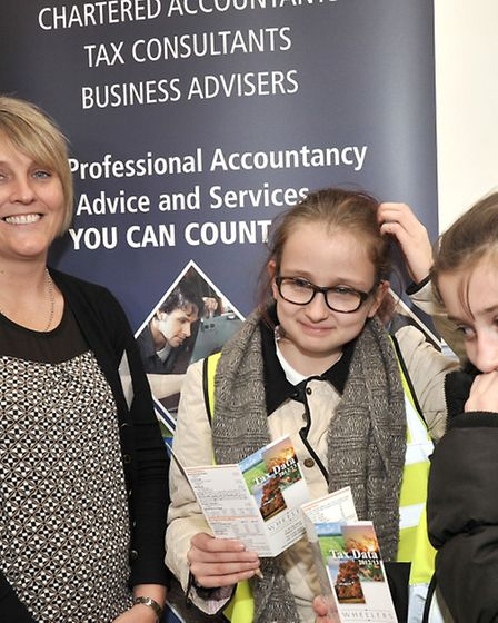 March Community Centre.Year 6 Careers Convention. Joey-Jade and Emily take a look at the accountants