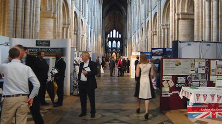 Ely Cathedral Celebration of Business Exhibition