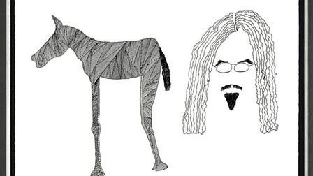 Self Portrait High Horse by Billy Connolly
