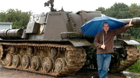 Richard Moore is a Russian tank specialist and over the years has dealt in many unusual items from t