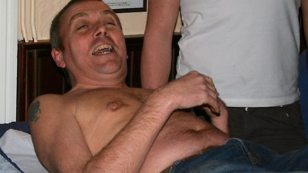 Billed as Witchford's 'Greatest Ever Male Waxing Party' held at the Village Inn, Witchford on Friday