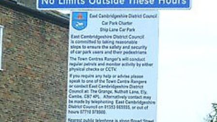 Parking in Ely's car parks will remain free.