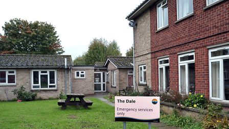 The Dale sheltered housing complex in Elm which is to make way foir 21 homes.