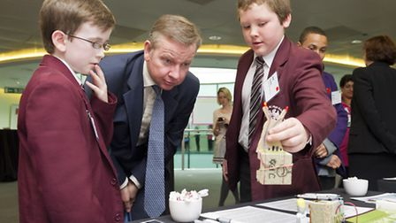 Education Secretary Michael Gove at the National Business Class Convention 2012