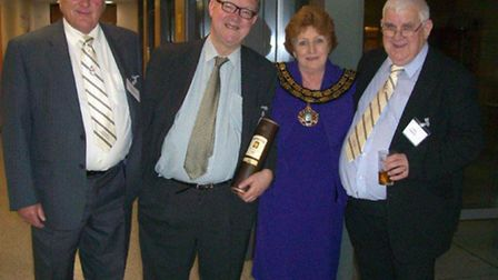 Pictured at the 94th reunion of March Grammar and Neale Wad Former Students Association, from left,