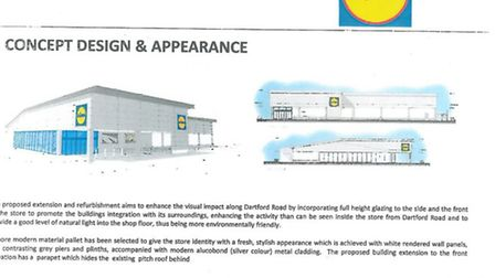 What the new look Lidl will look like