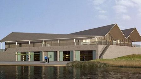 The new boathouse at Fore Mill Wash could look