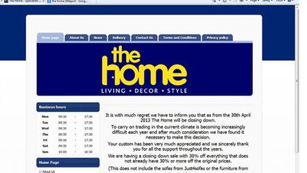 The statement posted on The Home's website