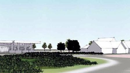Taken from the developers plans submitted to East Cambridgeshire District Council, for the proposed