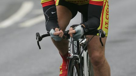 Cliff Loveday in action for Ely Cycling Club