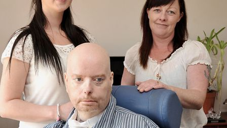 Lee Thorne, muscular dystrophy sufferer is appealing against a decision for him to be in a care home