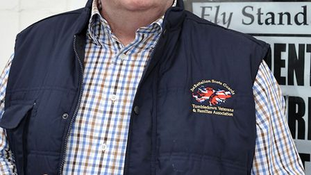 Ex-serviceman Vince Campbell from Littleport call for better care for veterans.