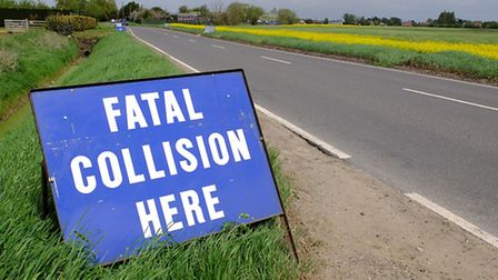 Scene of the fatal collision in Upwell.