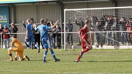Wisbech Town football vs Brantham athletic. Picture: Steve Williams.