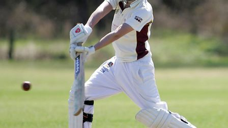 March Town cricket vs Camden. Tommy Howgego. Picture: Steve Williams.