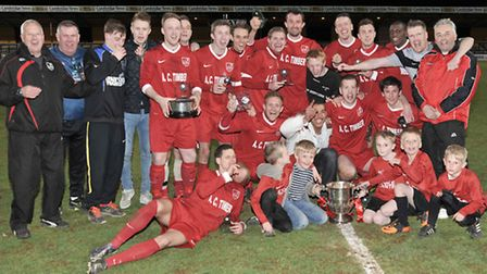 Ely City vs Cambridge City - Cambs Invitation Cup final. Picture: Steve Williams.