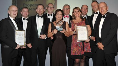 Business of the Year, Foster Property Maintenance team.