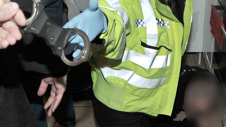 Police raid in Chatteris.