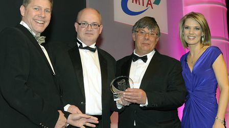 (Left to right) Martin Walder, chairman of the Engineering & Machinery Alliance, Andrew Ward, opera
