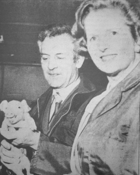 Margaret Thatcher picture from Cambridgeshire Times March 17th 1978.