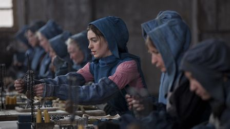Anne Hathaway in Universal Pictures film Les Miserables