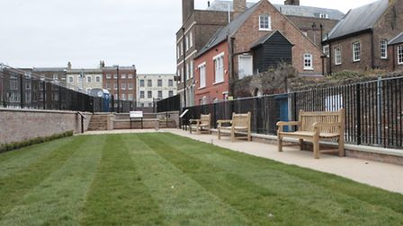 Centenary Green has been created by Octavia Hill's Birthplace Museum Trust next to the Birthplace Ho