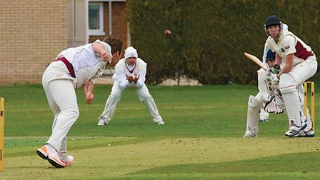 1st Xl March cricket v Downham Town, Action at Saturdays match. Picture: Pat Ringham.